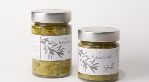 olive verdi schiacciate blandini