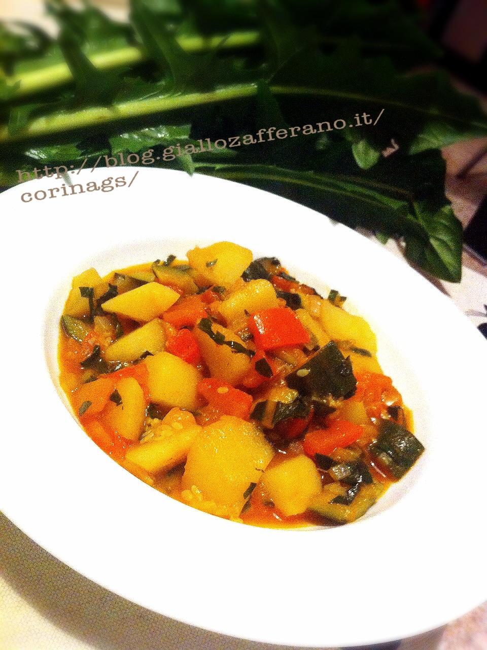 Verdure in padella al sapore di catalogna (cicoria)|CorinaGS