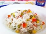 Riso bastati con tonno e verdure|Ricetta base riso|CorinaGS
