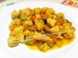 Pollo con verdure al curry|Ricetta base pollo|CorinaGS
