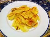 Patatine chips al microonde|Patatine croccanti fai da te|CorinaGS