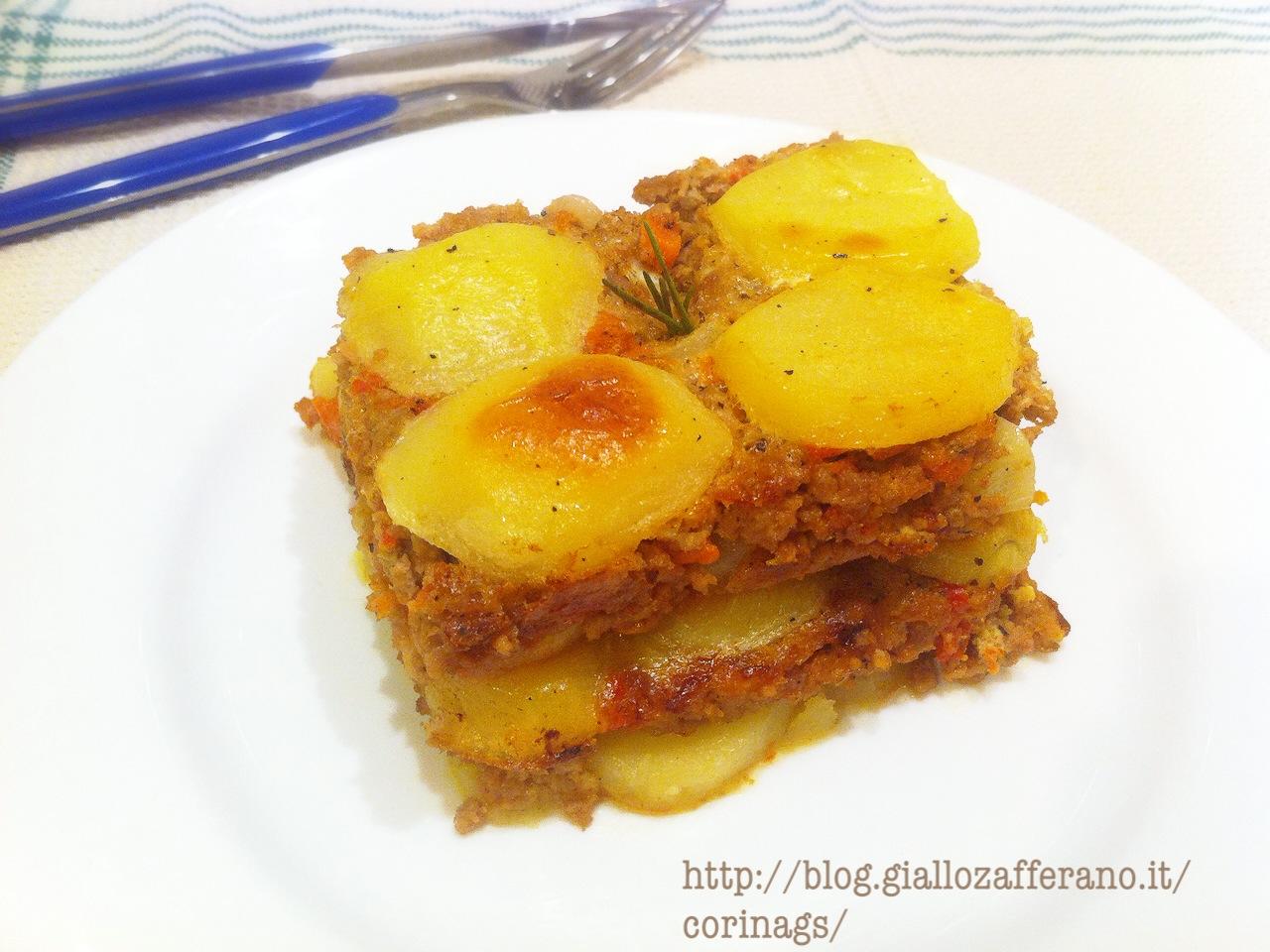 Moussaka di patate e carne CorinaGS