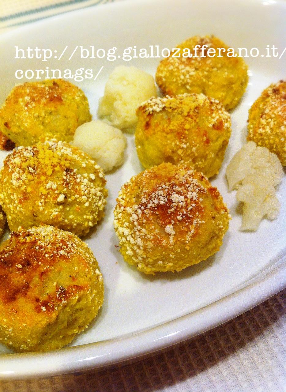 polpette vegetariane cavolfiore curry