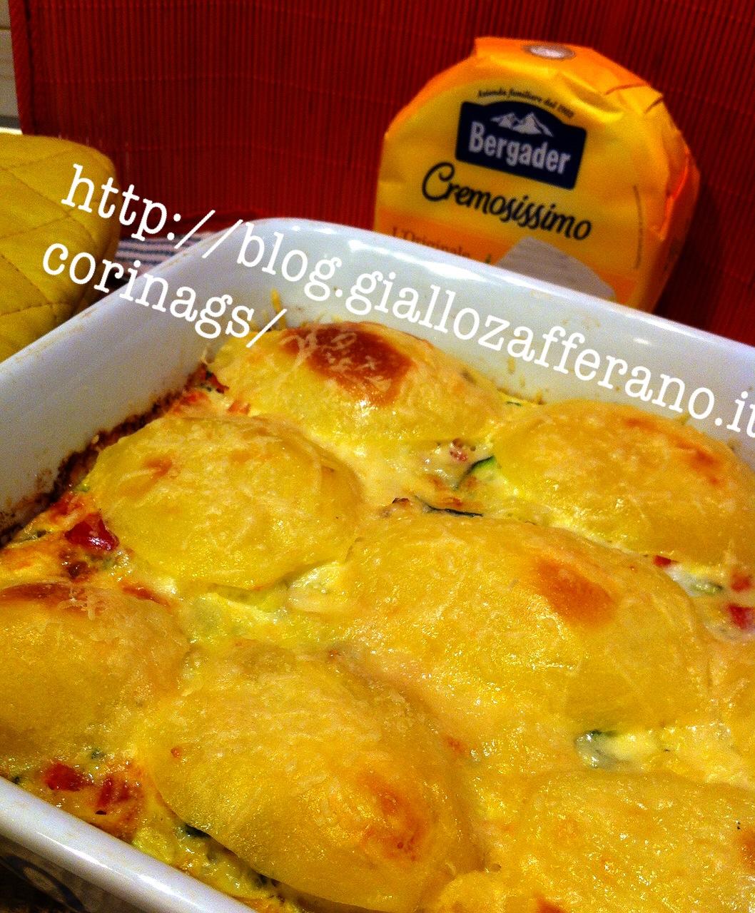 patate al formaggio al forno