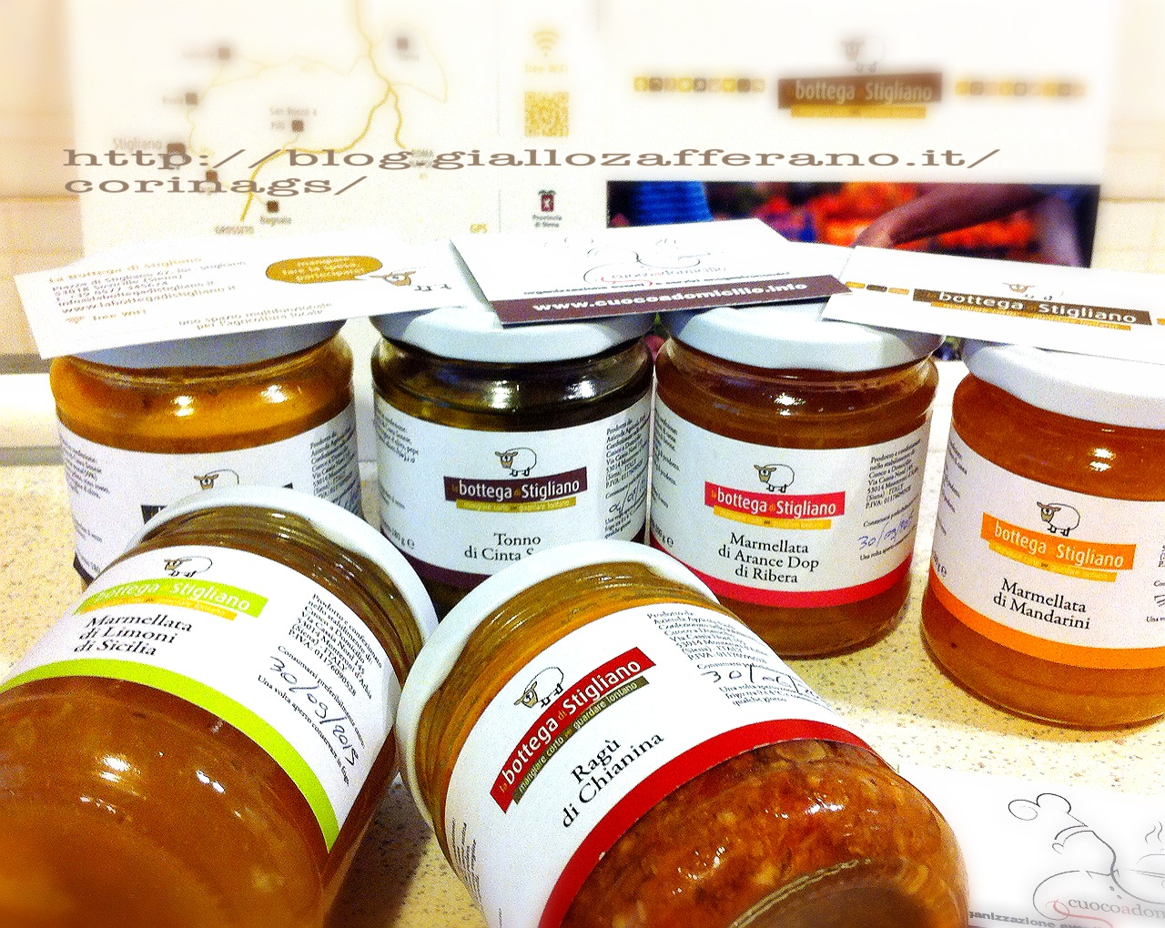 Cuoco a Domicilio e e prodotti della Bottega di Stigliano|CorinaGS