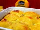 Patate cremose al formaggio|Ricetta base al forno|CorinaGS