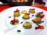 Gnocchi con speck croccante e crema di semi di zucca