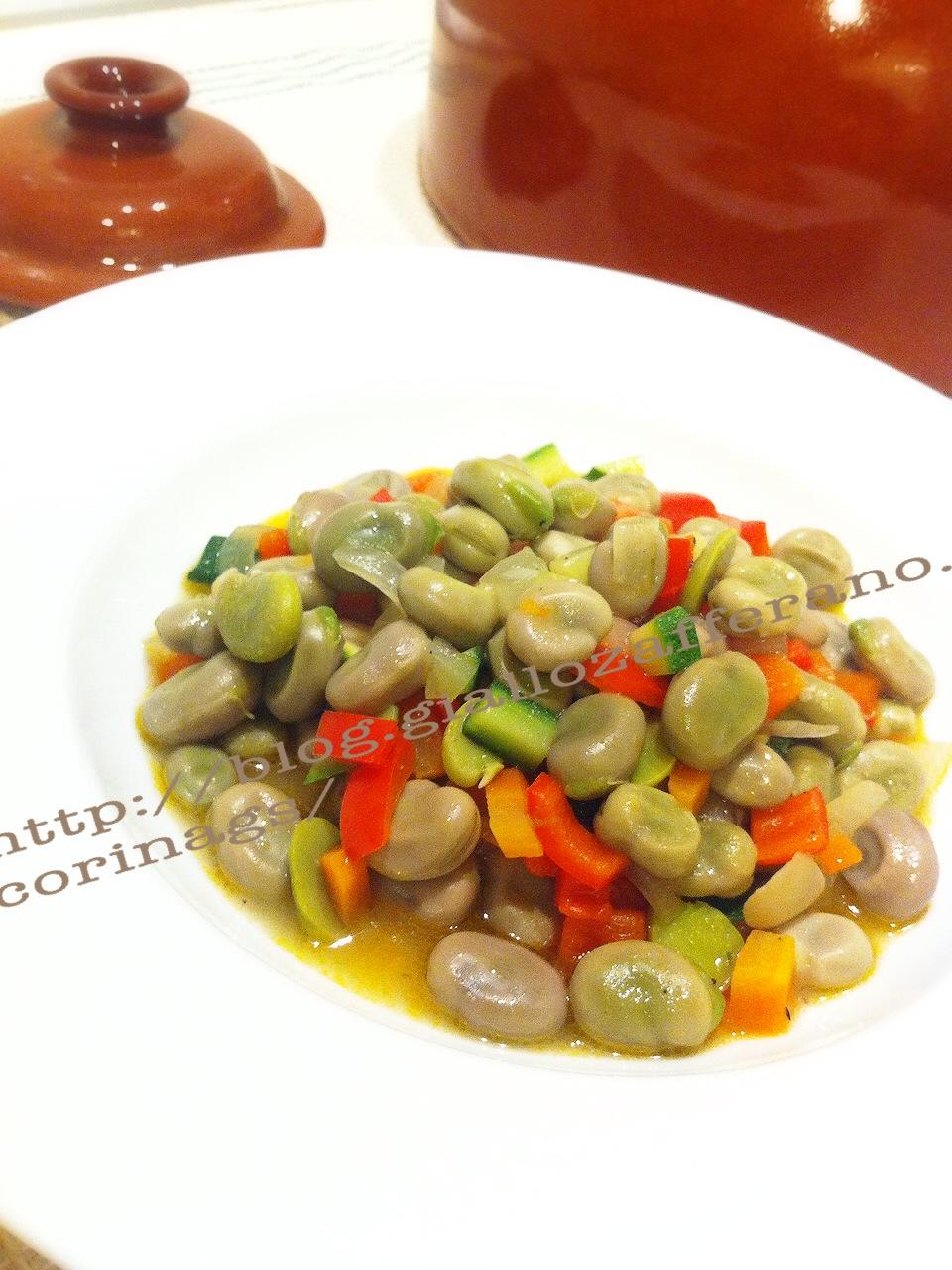 ricetta fave forno terracotta