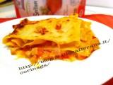 Lasagne con ragu di seitan|Lasagne vegetariane|CorinaGS