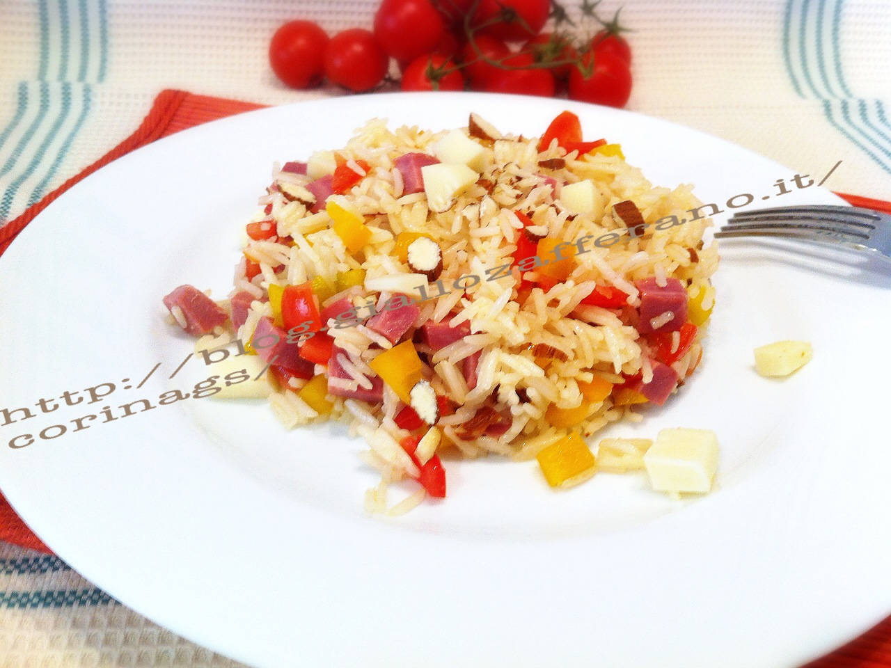 Insalata di riso basmati saporita|CorinaGS