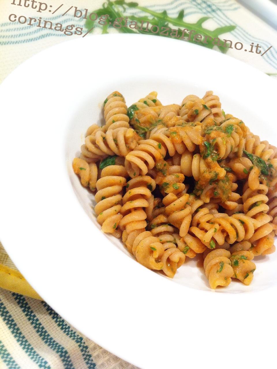 ricette pasta di farro