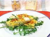 Sformatina al forno con formaggio e rucola|CorinaGS