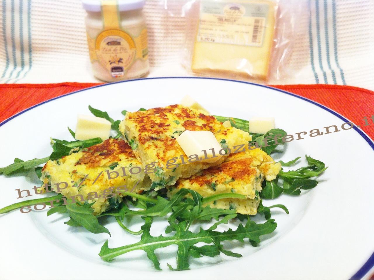 Sformatina al forno con formaggio e rucola CorinaGS