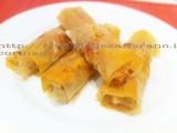 Involtini al forno con riso rosso integrale e verdure