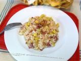 Risotto salsiccia mela e zucchina|CorinaGS