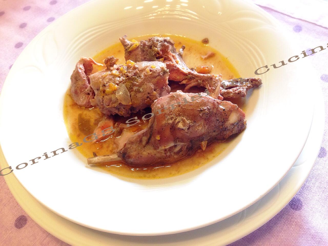 Coniglio al vino|Ricetta base coniglio|Corinags