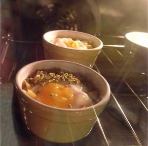 uova in cocotte al forno