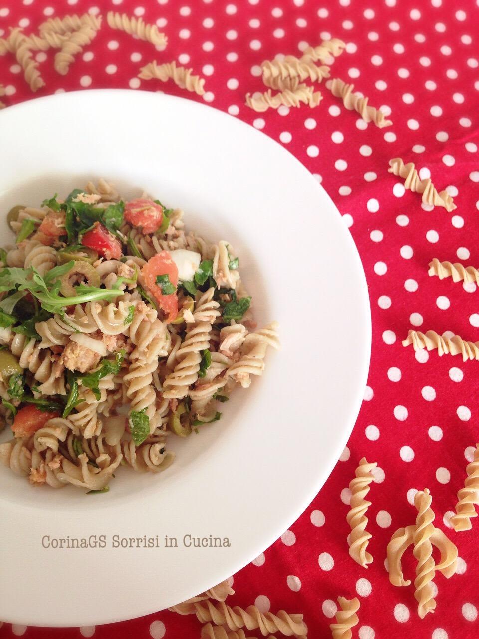 pasta lenticchie fredda
