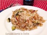 Riso basmati con carne e zucchine|CorinaGS