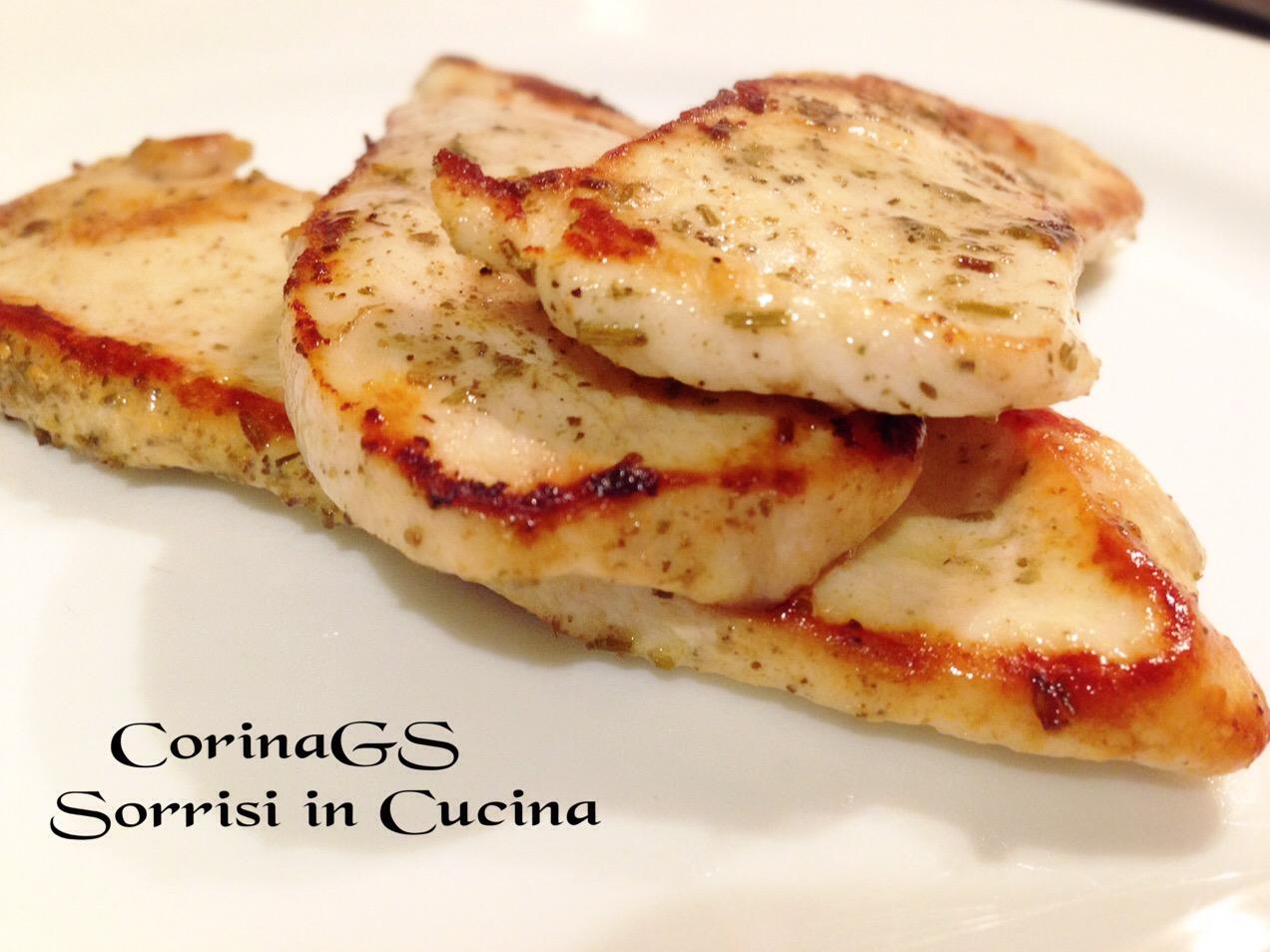 Petto di pollo speziato alla piastra|CorinaGS