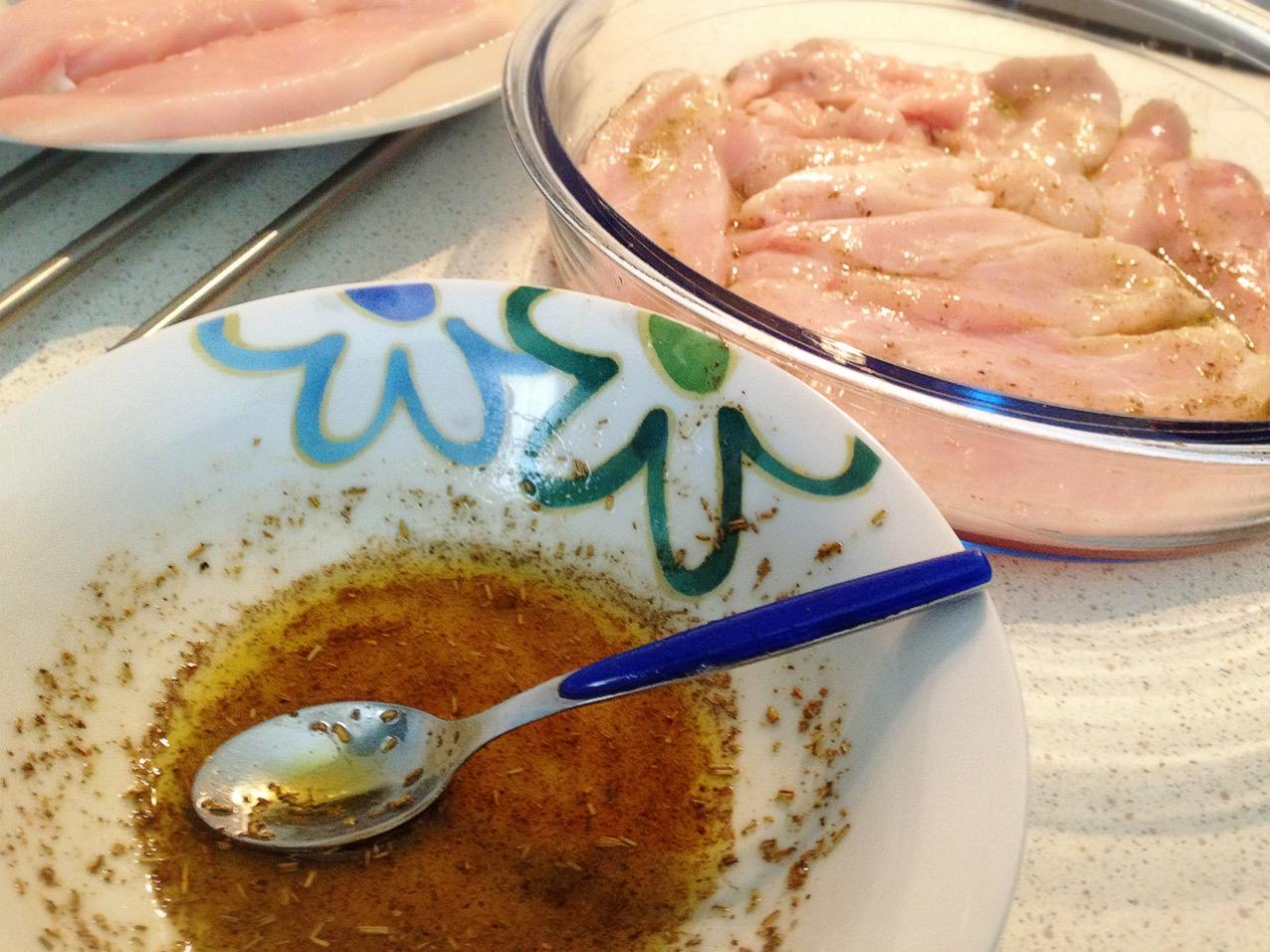 pollo marinato