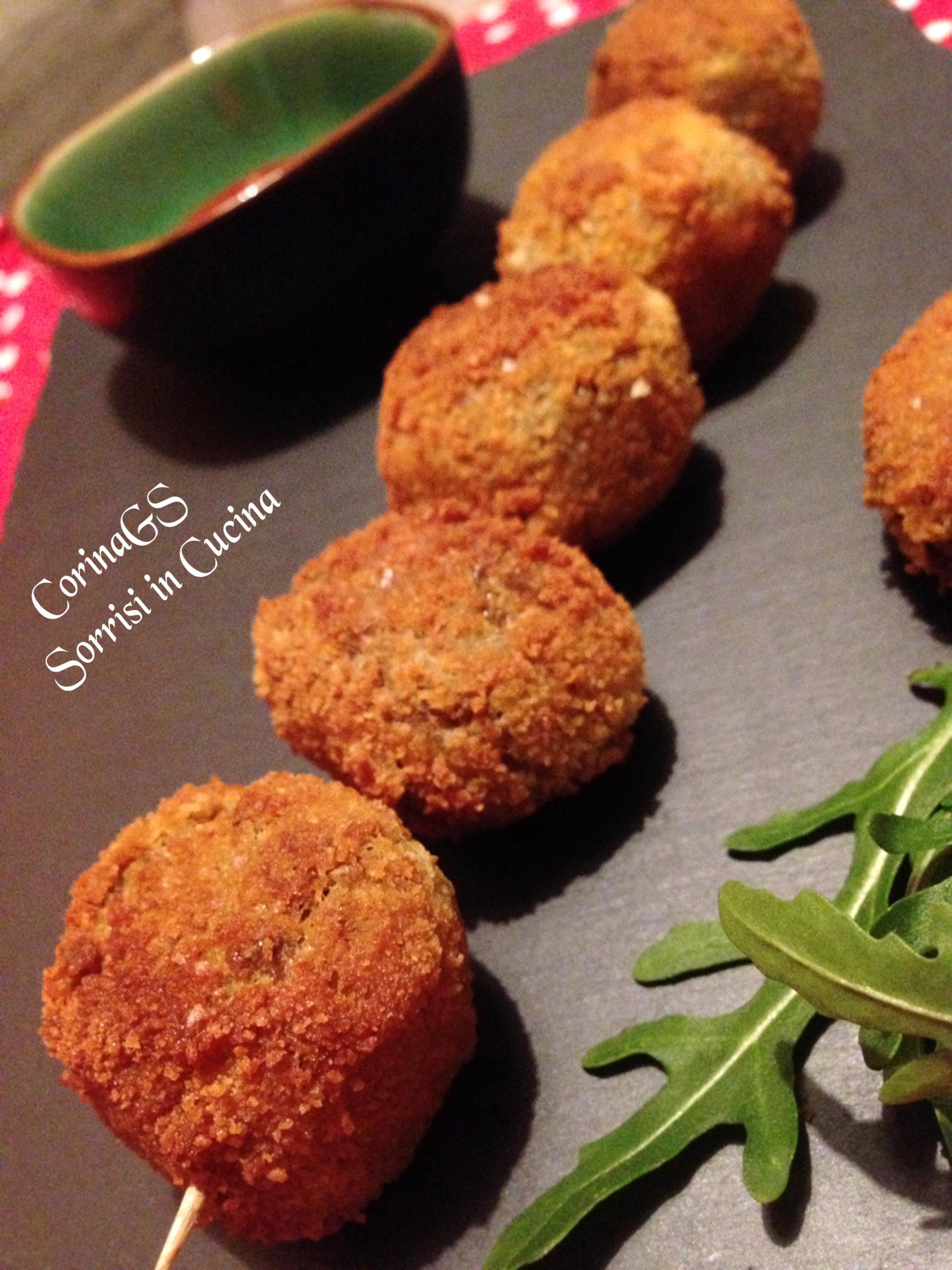 Polpettine di lenticchie Ricetta base polpette CorinaGS