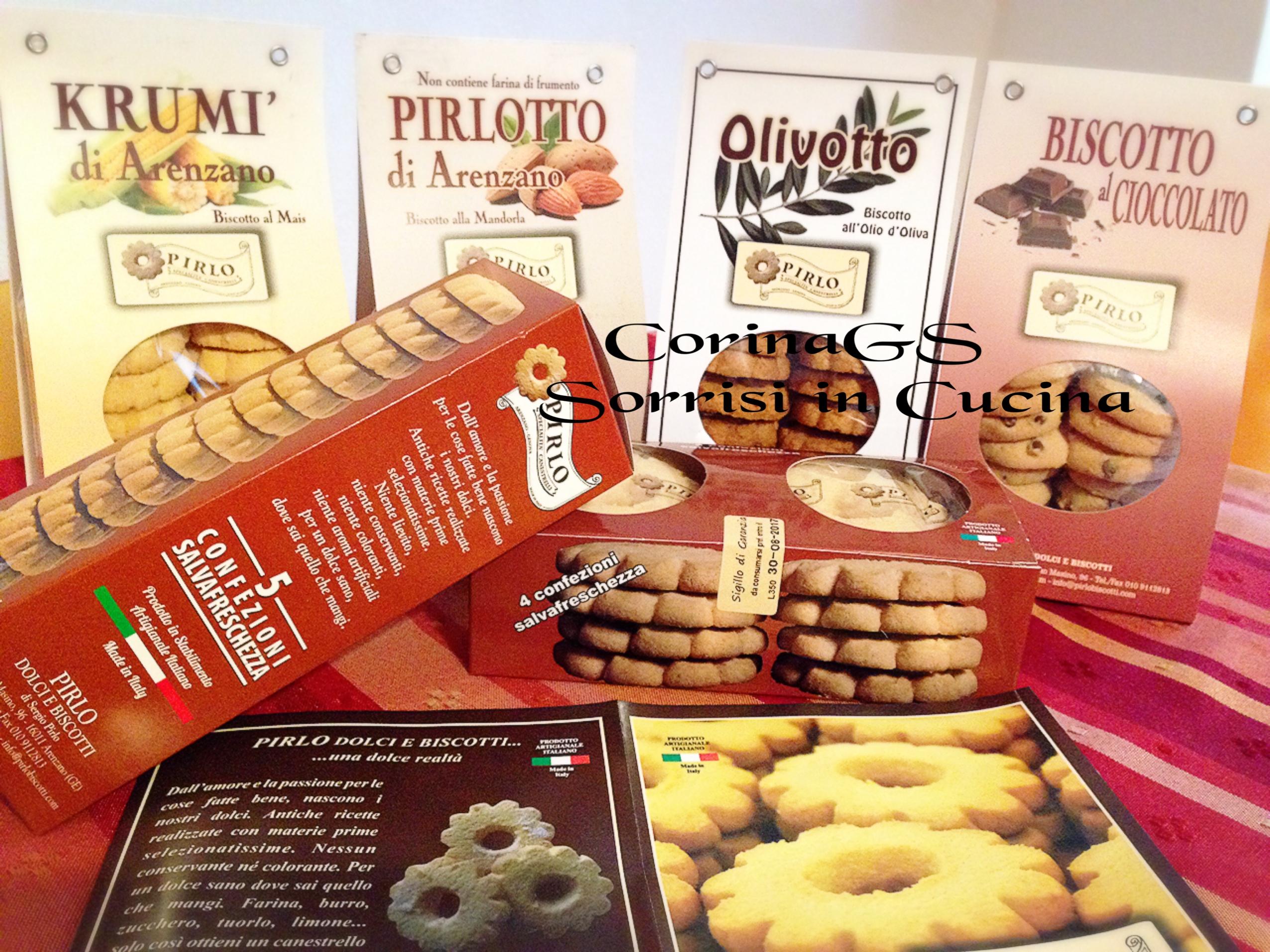Biscotti Pirlo Dolcezze genuine e fresche CorinaGS