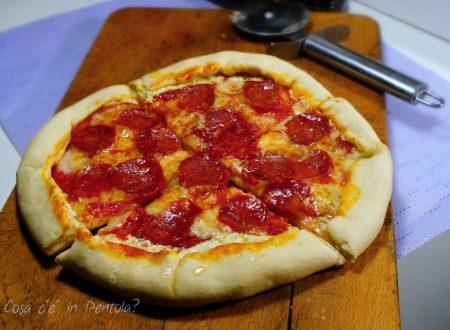 Impasto Pizza veloce, pronta in 10 minuti