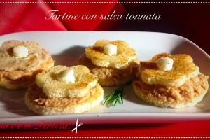 Tartine con salsa tonnata