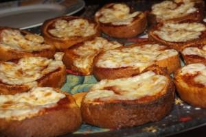 Pizzette di pandorini