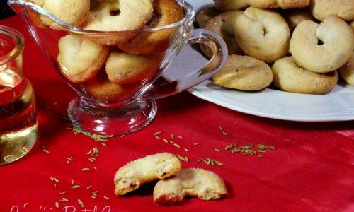 Taralli dolci al vino e finocchietto