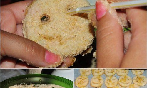 Le mie Sorrisette di patate, cotto e uova mimosa