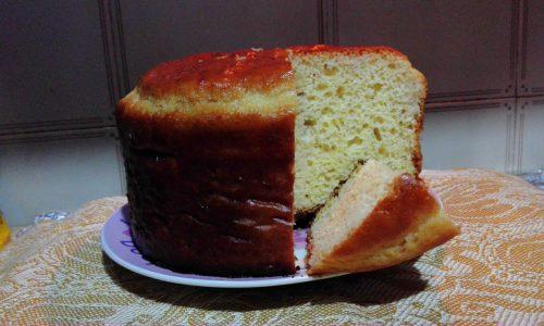 Torta babà con ananas