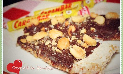 Fusione di cioccolato e caramello