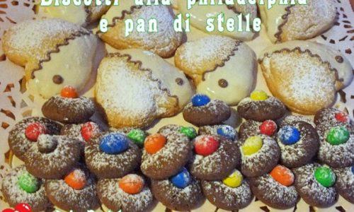 Biscotti alla philadelphia e pan di stelle
