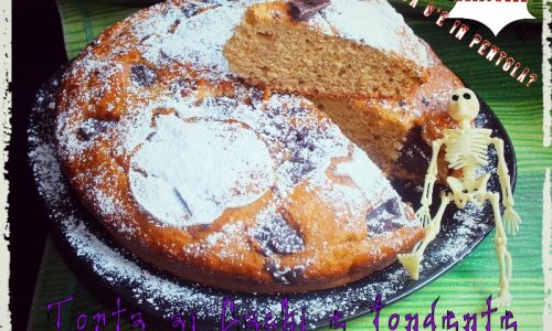 Torta di Cachi e pezzetti di fondente
