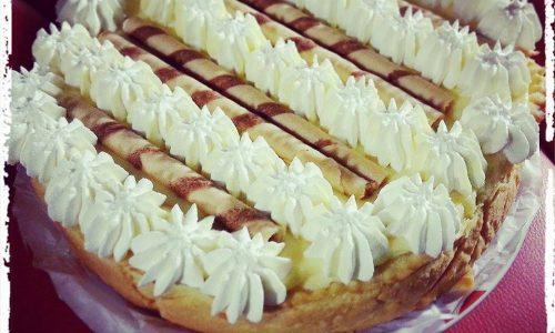 Delizia all'ananas e crema