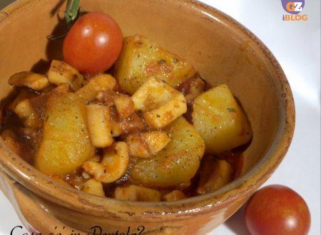 Ricetta Totani al pomodoro e patate