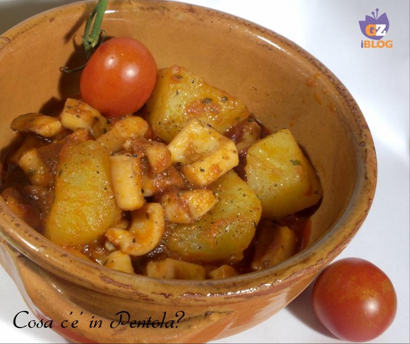 Ricetta Totano con le patate