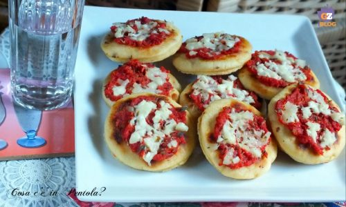 Pizzette in padella senza lievito