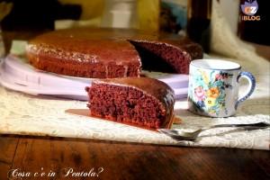 Torta vegana al cacao e caffè