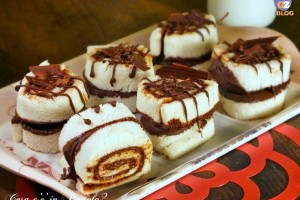 Coppie di Girelle cioccolatose 3 ingredienti