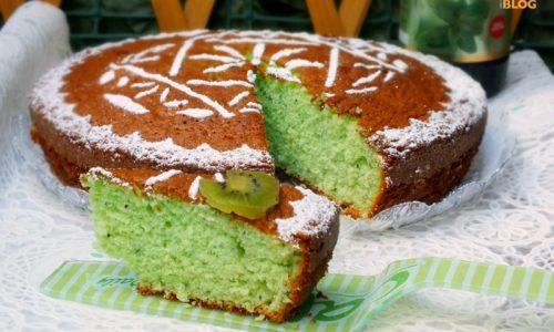 Torta soffice Kiwi e Menta