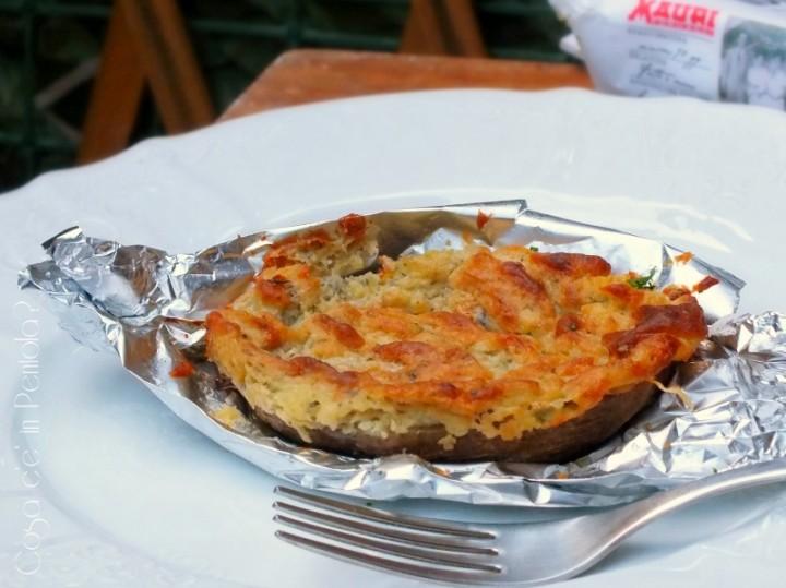 Patate ripiene al gorgonzola piccante