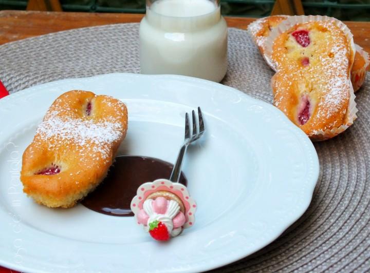Plumcake di Fragole Senza Burro