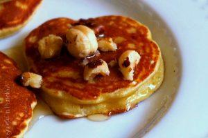 Pancakes di Kamut e banana