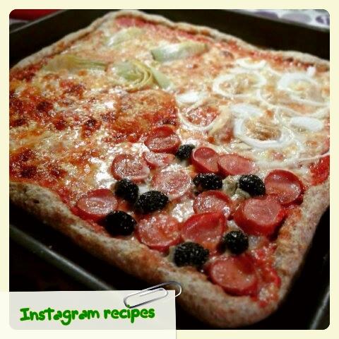 pizza integrale 4 gusti