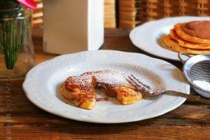 Pancakes dal cuore morbido al cioccolato – no nutella