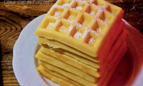 Waffles super soffici