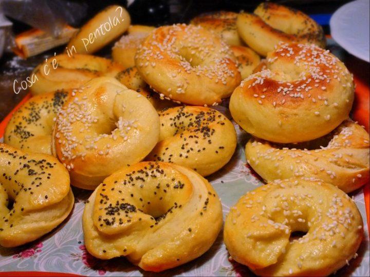 bagels pronti da farcire